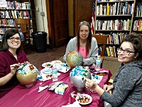 Image: Crafting at the<br />Bronson Branch